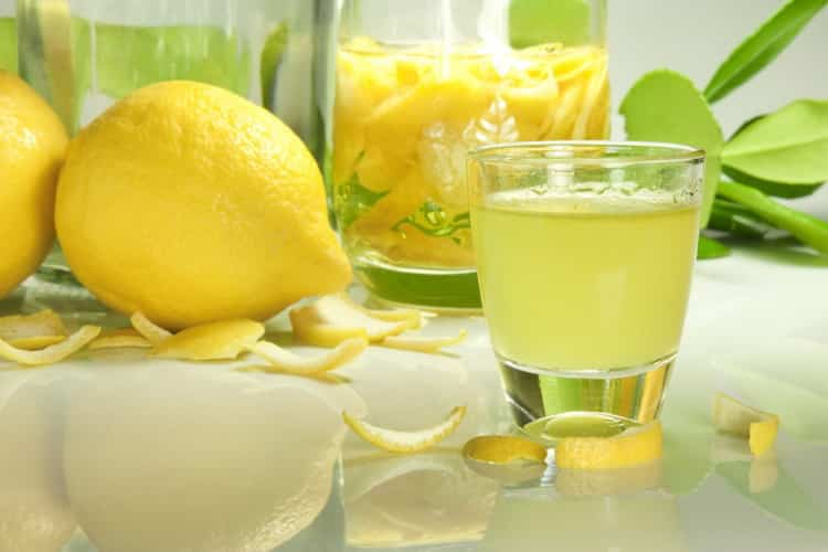 лимонная водка рецепт приготовления в домашних условиях