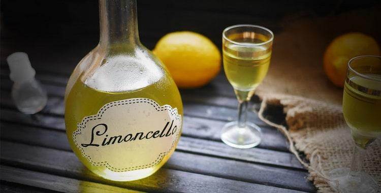 Рецепт приготовления лимонного ликера в домашних условиях
