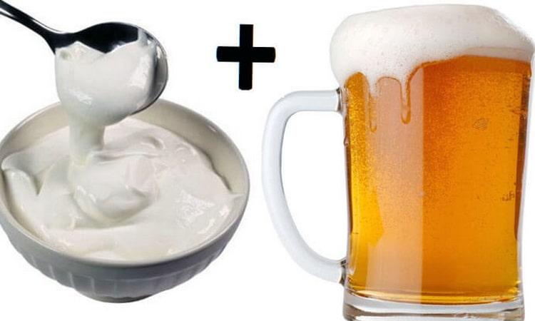 Когда пиво со сметаной противопоказаны для мужчин