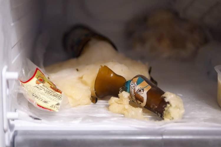 при какой температуре замерзает пиво