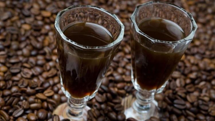Отличная кофейная настойка на самогоне