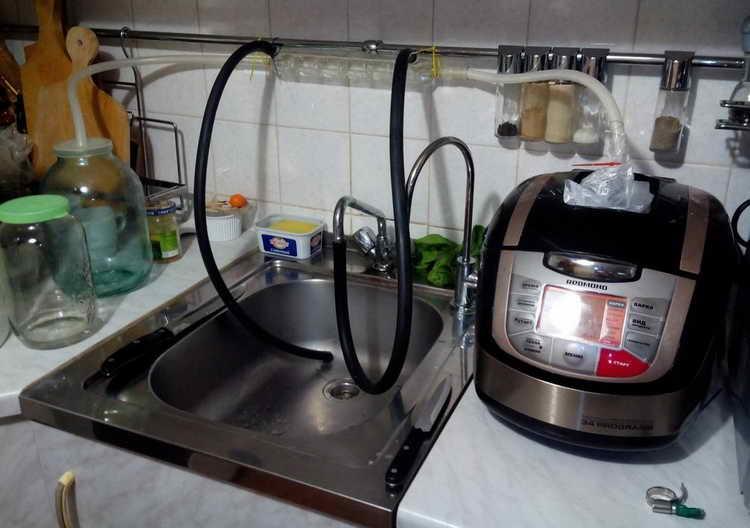 как сделать самогонный аппарат в домашних условиях из мультиварки