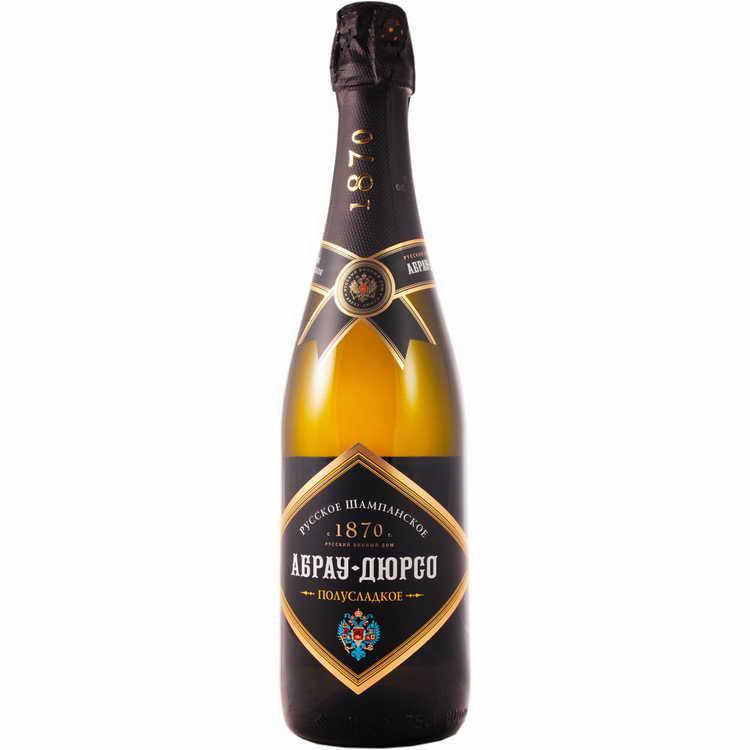 абрау дюрсо шампанское сколько градусов