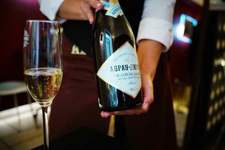 шампанское абрау дюрсо полусладкое