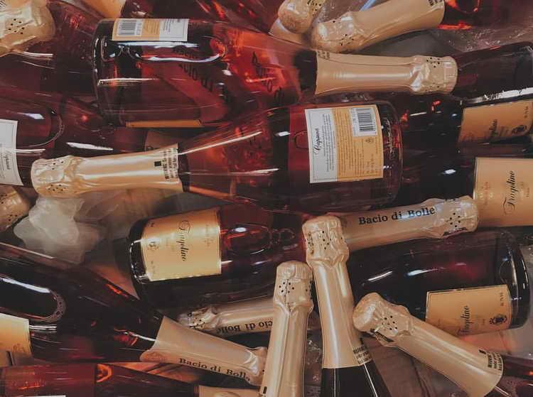шампанское Bolle