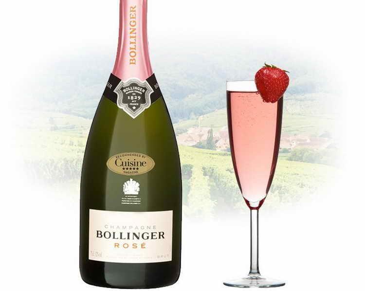 Bollinger Rose Brut