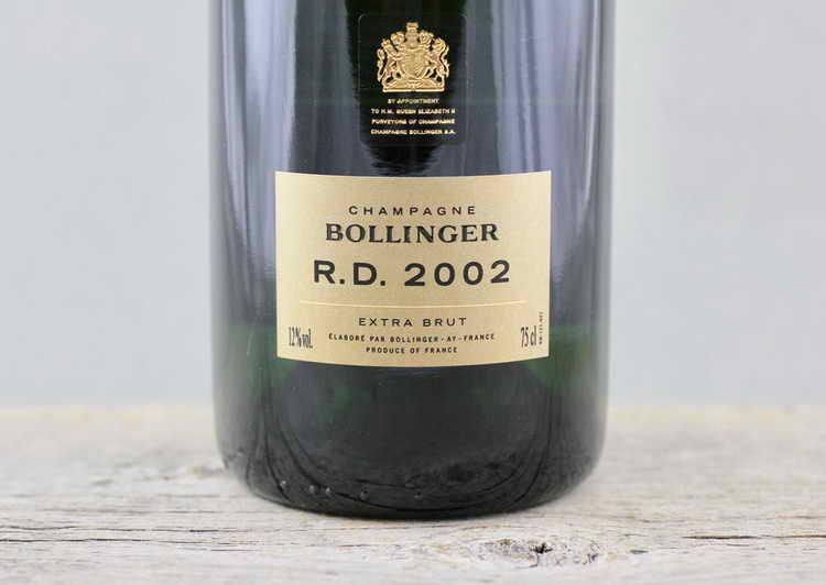 Bollinger R.D. Extra Brut 2002