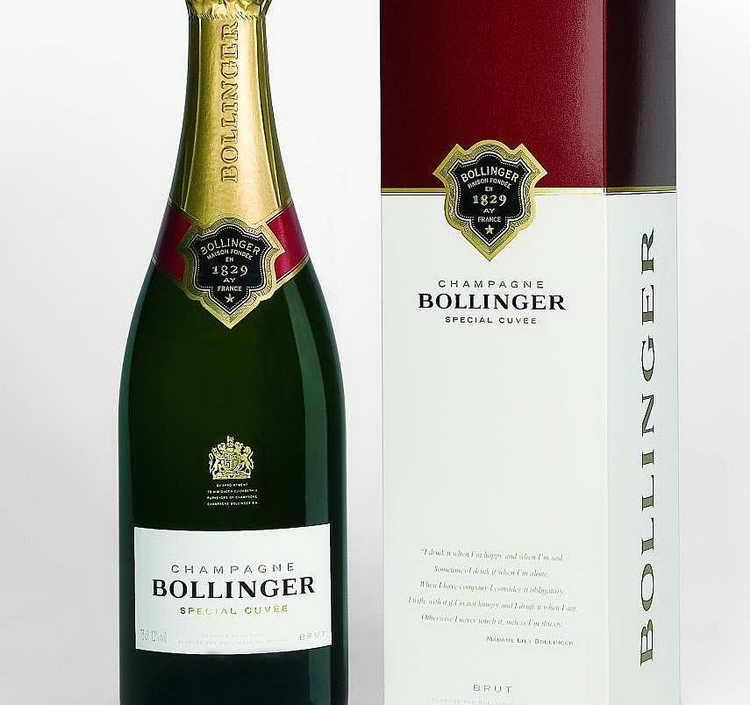 Шампанское Bollinger Special Cuvee