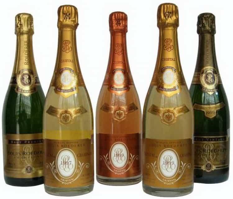 шампанское Кристалл: дегустация