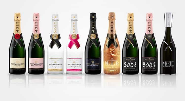 шампанское Моет: как подавать