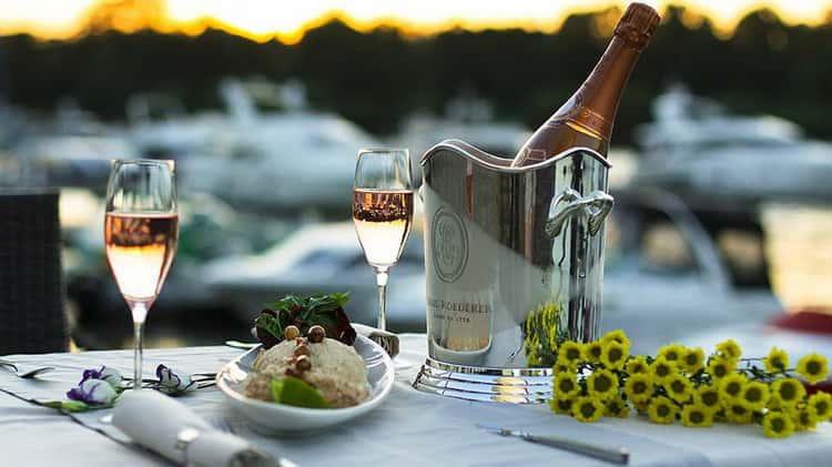 шампанское моет: с чем подавать