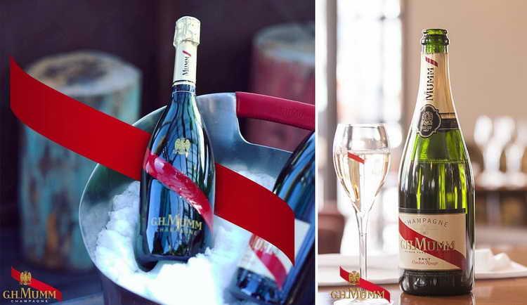 шампанское g h mumm