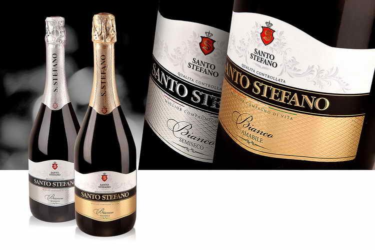 шампанское santo stefano