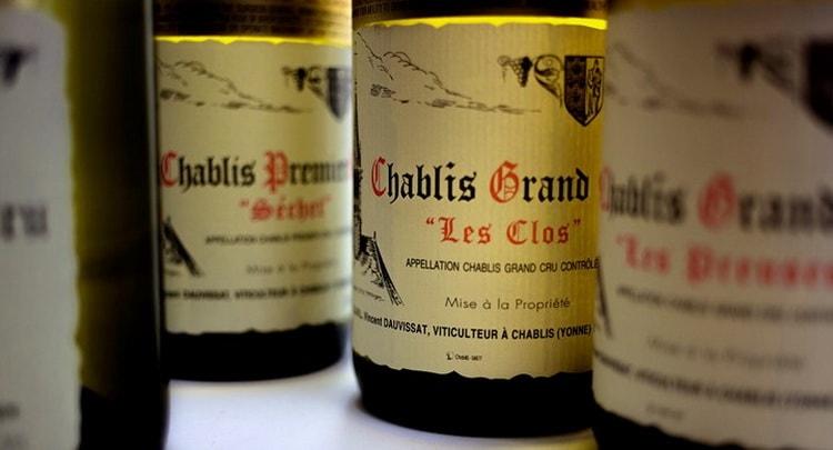 вино шабли белое сухое