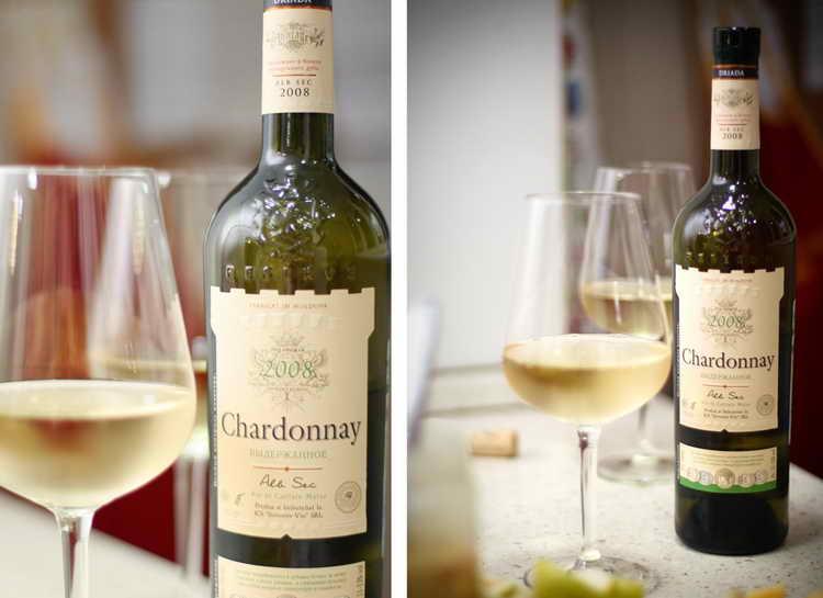 описание вино шардоне