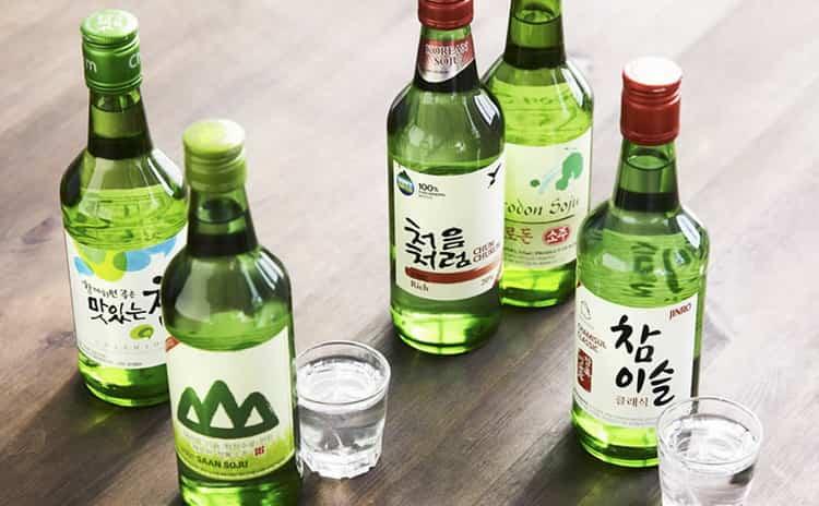 соджу это корейский напиток
