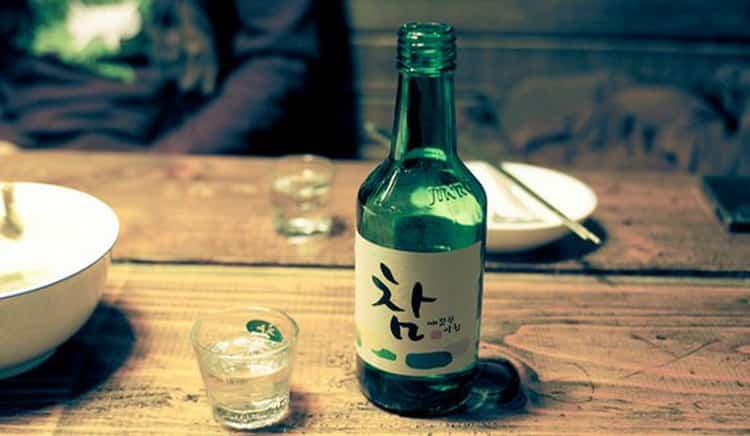 Как подавать корейский алкоголь
