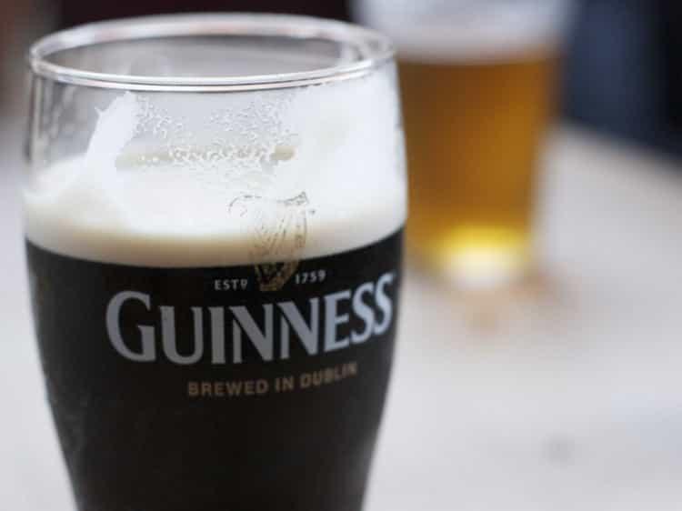 Как подавать стаут пиво