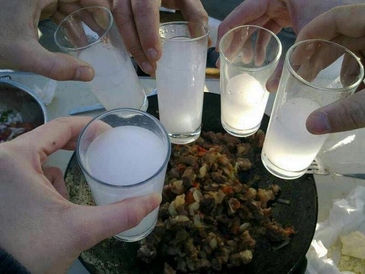 турецкая водка раки: состав