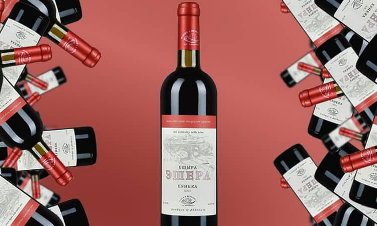 Прекрасное вино с абхазии эшера