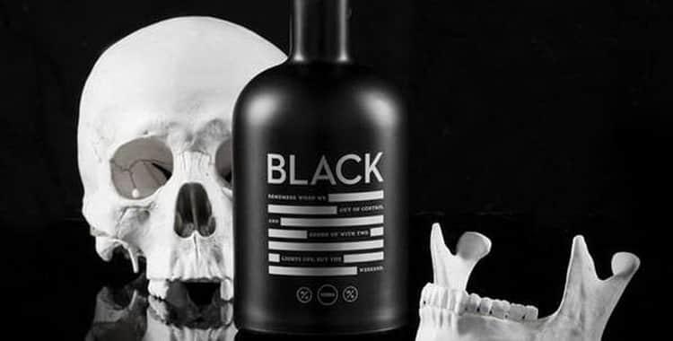 Водка черного цвета - Коллекция напитков со всего мира — LiveJournal