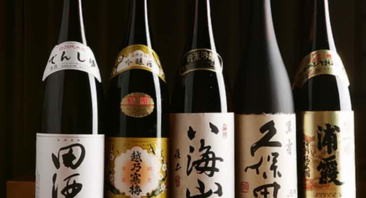 Как подавать японское вино
