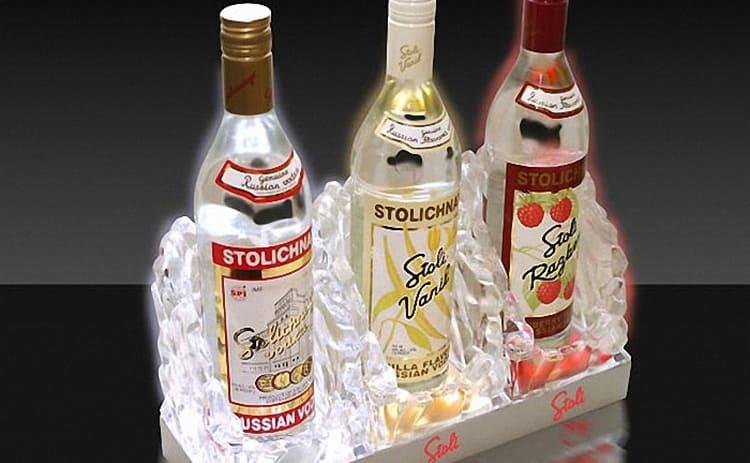 сколько процентов алкоголя в водке