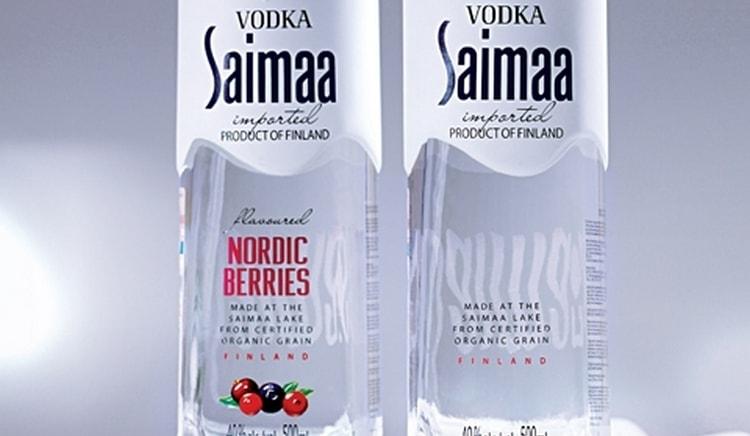 К водке класса премиум относится и Сайма.