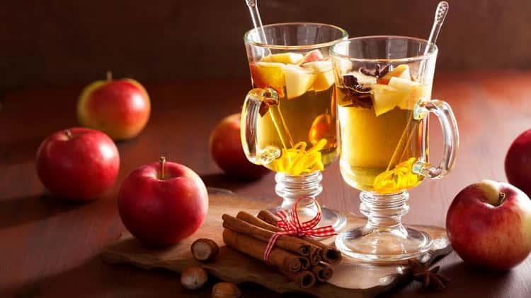 яблочный пунш алкогольный: как приготовить