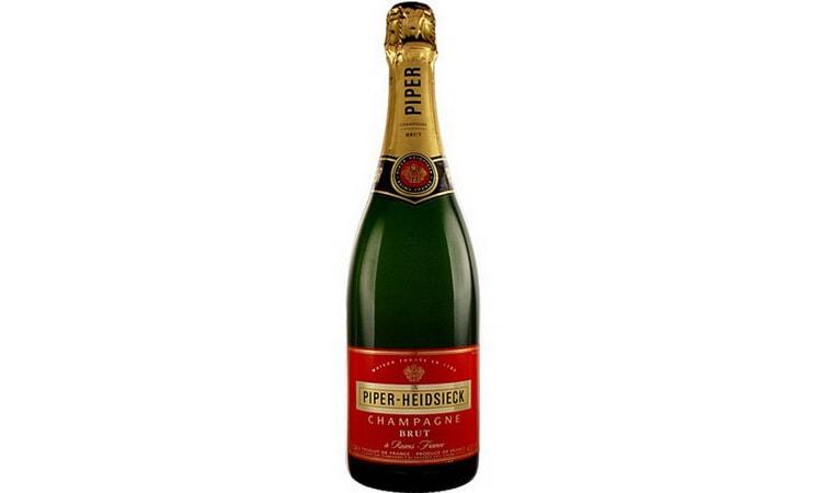 лучшее французское шампанское Piper-Heidsieck