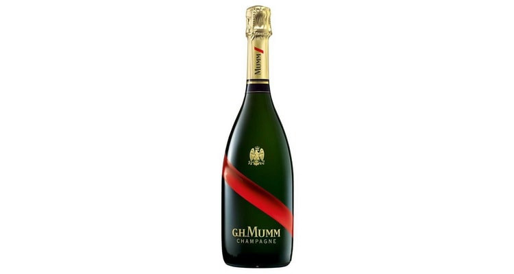 шампанское марки франция G.H. Mumm