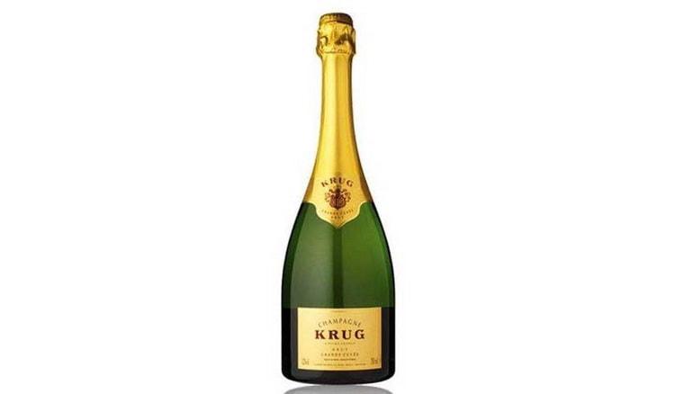хорошее шампанское Krug