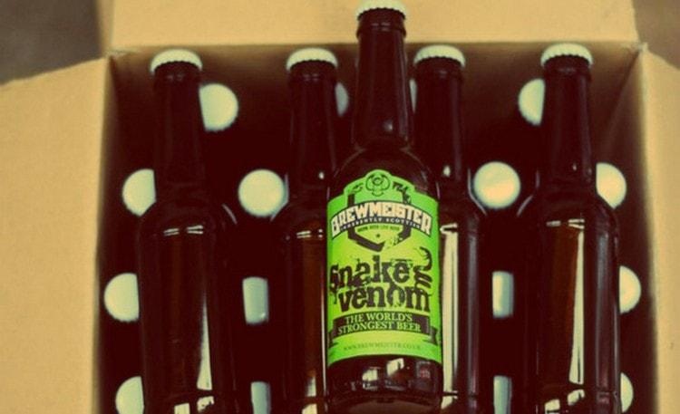 67,5% составляет крепость этого пива.