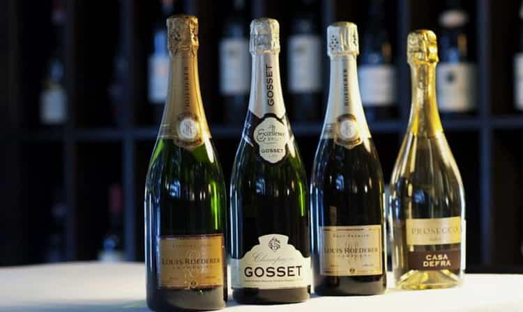 сколько калорий в шампанском