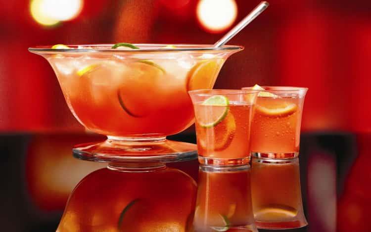 Рецепты приготовления классического алкогольного пунша