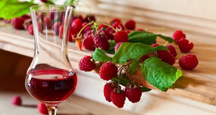 малиновый ликер в домашних условиях рецепт на спирту