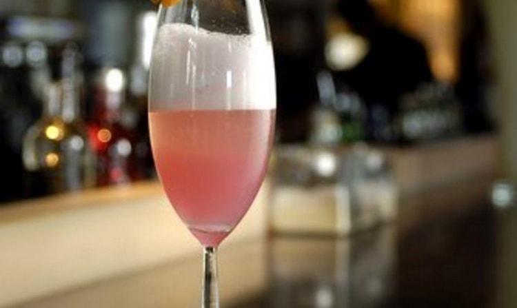 коктейль из малинового ликера