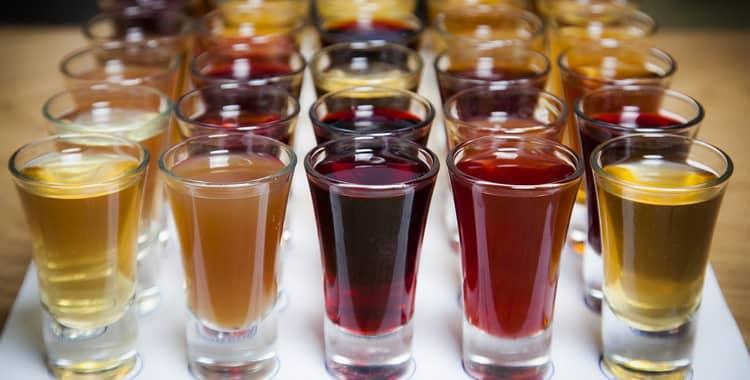 Настойки на ягодах со спиртом