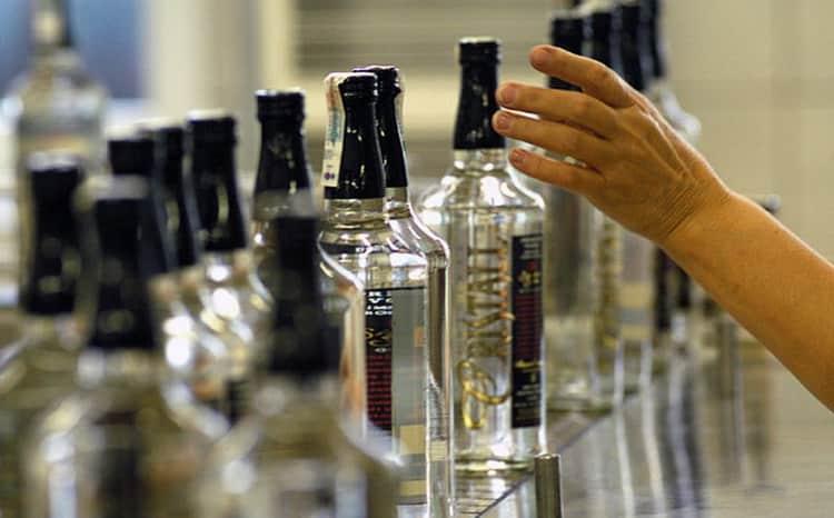 срок годности водки в бутылке
