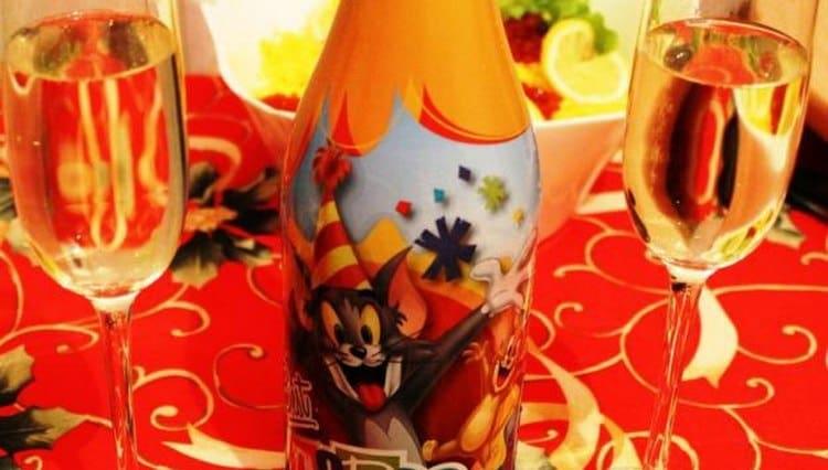 Есть разные производители детского шампанского.