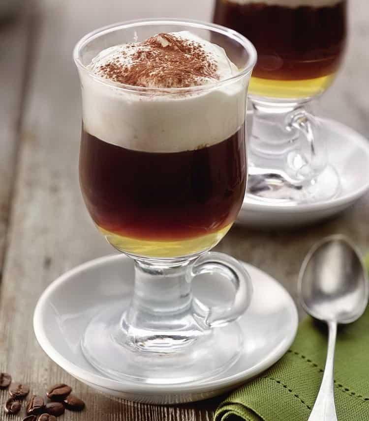Из чего готовится ирландский кофе