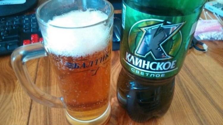 В состав пива Клинское входит рис.