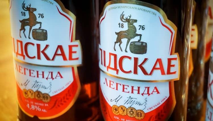 Белорусское пиво Лидское пользуется большой популярностью на территории СНГ.