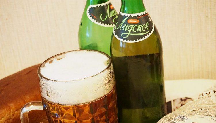 Пиво Лидское классическое подают по всем канонам жанра.