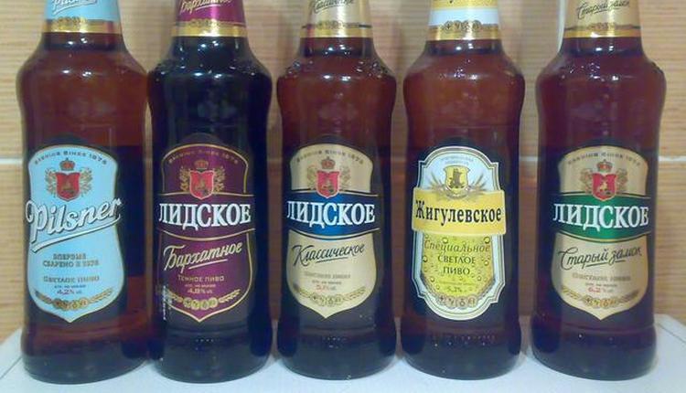 Ассортимент пива Лидское действительно широкий.
