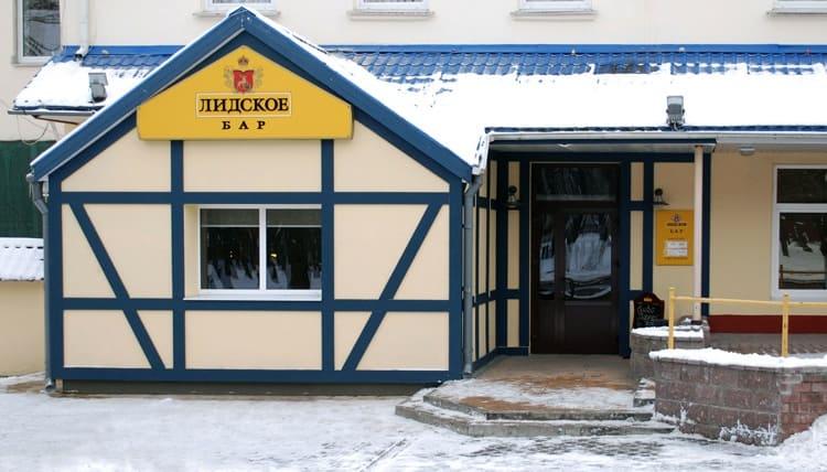 Жигулевское пиво Лидское можно попробовать в специализированном баре, воссозданном при заводе-производителе напитка.