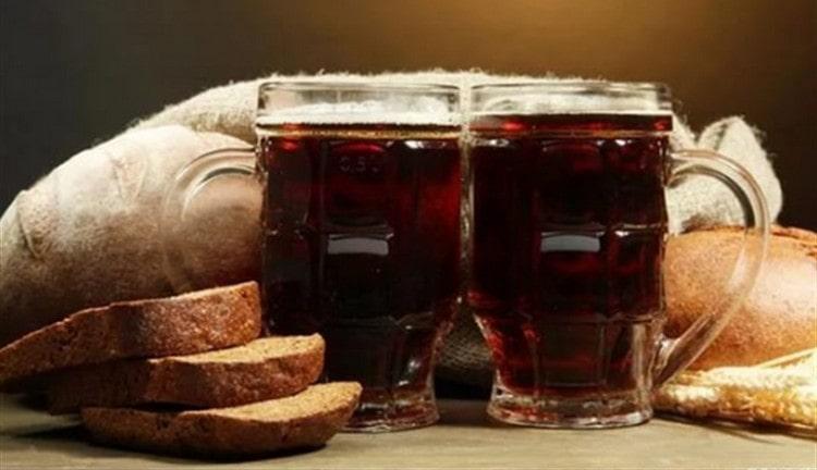 Осетинское пиво можно приготовить на ржаном хлебе.