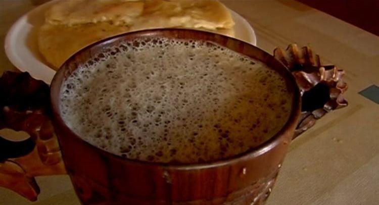 Посмотрте рецепт приготовления осетинского пива.