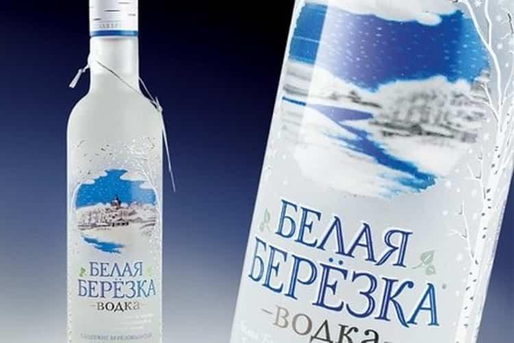 дорогая русская водка