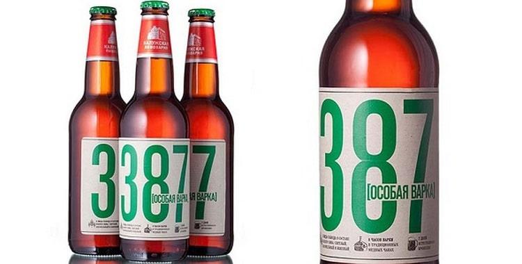 Пиво 387 и его особенности